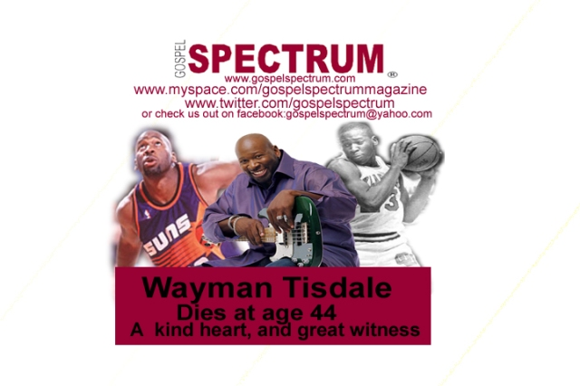 Wayman TIsdale Tribute